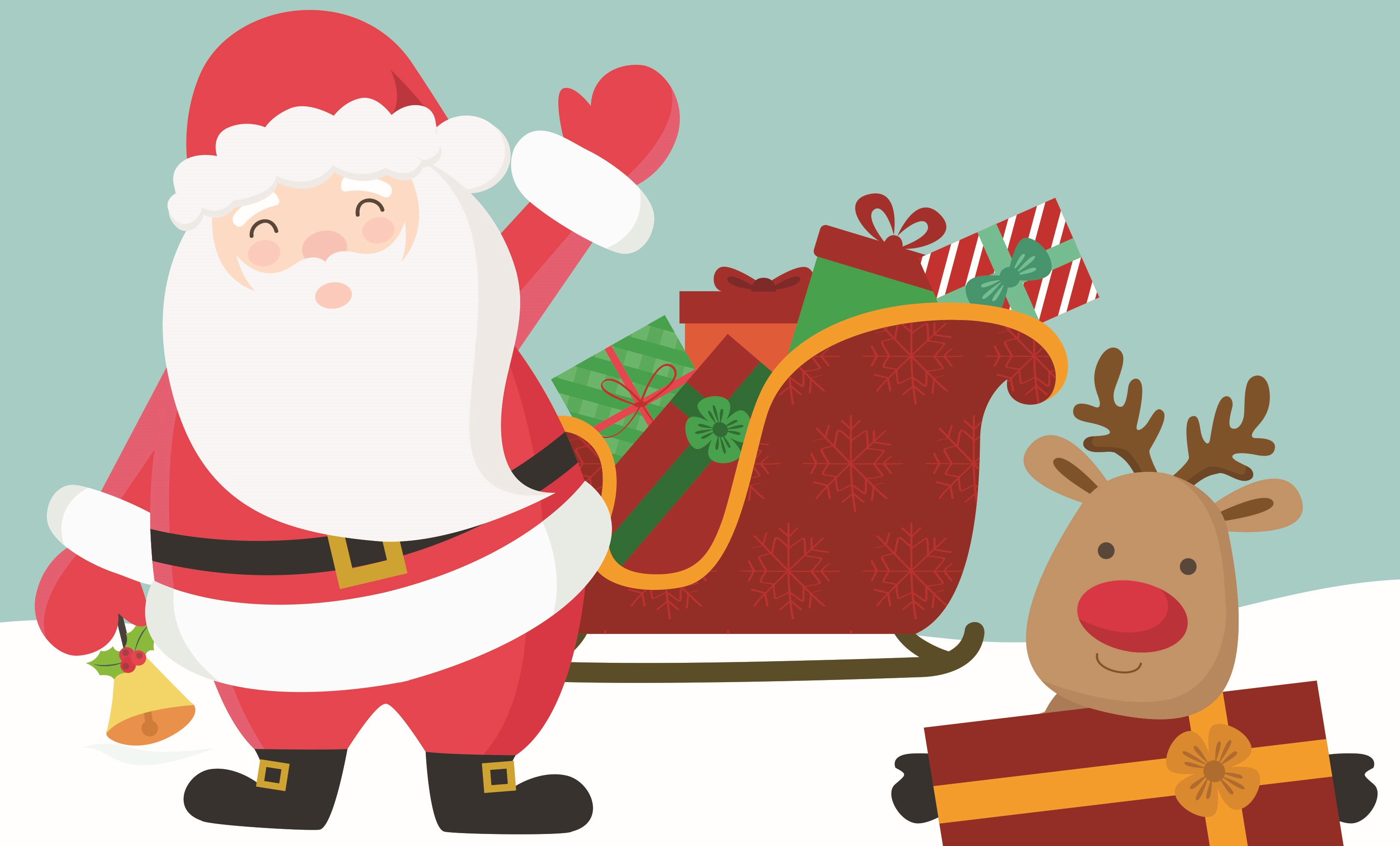 Spet prihaja Božiček …