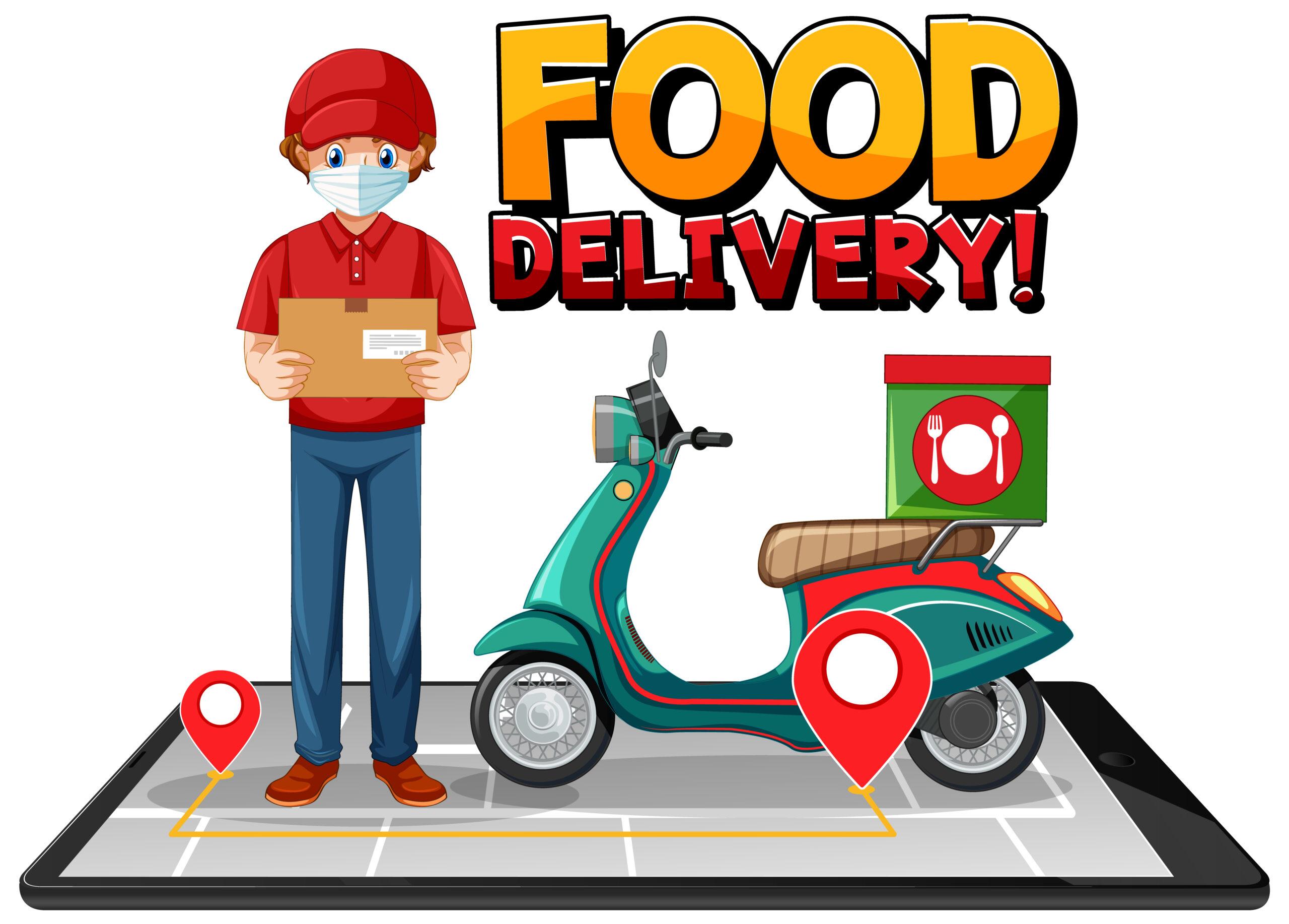 Pomagajmo gostincem z naročili dostave hrane na dom ali v službo